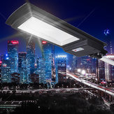 Solar Powered 936 LED Luz de rua Radar Lâmpada Sensor + Controle Remoto Lâmpada de parede à prova d'água