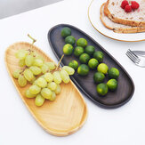 Chengshe Multifunctional Bamboo Saucer Tea Tray Fruit Plate Snack Plate Nut Plate from Ecological Chain