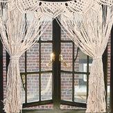 Büyük Makrome Duvar Asılı Kapı Pencere Perde Düğün Zemin Goblen Hediye