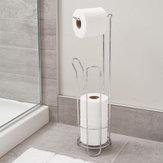 Support de rouleau de papier hygiénique debout vintage pour support de tablette de papier de rangement pour salle de bain à la maison