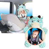 Baby Backseat Mirror Safety Seat Rear View Mirror For Car View Infant Facing Newborn Animal