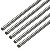 5pcs 500mm Diameter 3mm Stainless Steel Round Rod Round Solid Metal Bar Rod