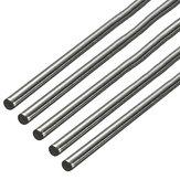 5pcs 500mm Durchmesser 3mm Edelstahl Rundstab Rundstab aus massivem Metall