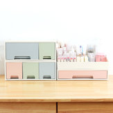 Desktop Drawer Storage Box DIY Free Combination Desktop File Cabinet Makeup Cosmetic Storage Case Organizer Rack Pen Pencils Holder