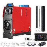 5KW 12V Air Diesel Calentador Todo en One LCD Monitor PLANAR Control remoto Para camiones Barcos Coche