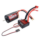 Surpass Hobby 550 Brushed Motor+80A ESC Set for 1/10 RC Car Crawler Vehicles Parts