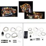 DIY LED Lamba Dize Kit LEGO 21319 Televizyon Serisi Arkadaşlar Için Kahve Dükkanı