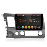 YUEHOO 10.1 Inch for Android 9.0 Car MP5 Player 4+32G Stereo Radio GPS WIFI 4G bluetooth FM AM RDS for Honda Civic 2006-2011