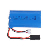 18650 7.4V 1200mAh 2S 10C Li-ion Battery for SG 1203 1/12 Drift RC Tank Car Vehicle Models Parts