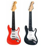 6 Strings Plastic Simulated Electric Guitar Musical Instrument Toy for Children