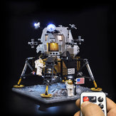Kit de iluminação com luz LED para LEGO 10266 Apollo 11 Lunar Lander Building Brick