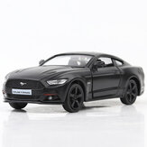 1:36 Alloy Matte Ford Mustang Zurückziehen Retro Diecast Model Car Toy