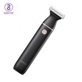 Soocas ET2 2 in 1 Electric Shaver T-Type Eyebrow Hair Trimmer 3 Blade 40° Swing Type-C Rechargeable IPX7 Waterproof  Wet & Dry Hair Removal Electric Razor for Men's Gift from Xiaomi Youpin