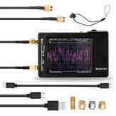Atualizado NanoVNA Vector Network Analyzer 50KHz-1.5GHZ Tela sensível ao toque digital Shortwave MF HF VHF UHF Antena Analisador com Bateria