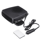300W 12V/24V DC Portable Car Electric Heater Heating Cooling Fan Windscreen Defroster Demister