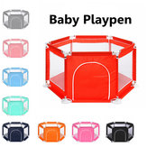 6 Sided Baby Playpen Playing house Interactive Kids Toddler Room With Safety Gate Decorations