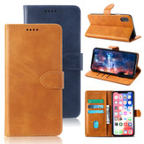 Bakeey Flip Shockproof Card Slot With Magnetic PU Leather Full Body Protective Case For Umidigi S3 Pro