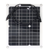 30W 18V Monocrystalline Solar Panel Untuk Motorhome Boat MC4 Konektor Waterproof Solar Power Panel