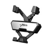 Mini Gravity Linkage Trava Automática Air Vent Car Phone Holder Mount Car para 4.0-6.5 Inch Smart Phone para iPhone Xiaomi Não original