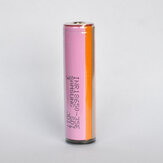 1Pcs INR18650-35E 18650 Power Battery 3500mAh 20A High Drain Rechargeable Li-ion Battery (Protected Button Top) For Flashlight E Cig Electric Bike