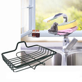 Mini Drain Rack Kitchen Sink Faucet Sponge Soap Cloth Storage Dish Drying Holder Shelf