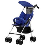 Criança dobrável do carrinho de bebê e assento de segurança infantil leve do carrinho de criança