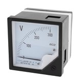 FROZEN TRAVEL 6C2 DC Volt Meter  10V 30V 50V Panel Analog Voltmeter Voltage Meter Electric Meters 80*80mm