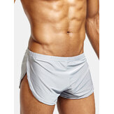 Mens Arrow Shorts Casual Sport Home Low Waist Loose Comfortable Solid Color Boxers