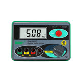 DY4100 Ground Insulation Resistance Tester Digital Rocker Lightning Protection Ground HD Digital Display Screen Dustproof