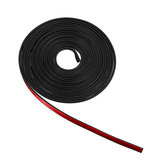 5 10M Gloss Carriage Protection Door Lamp Rear Edge Protector Car Stickers Rubber Strip
