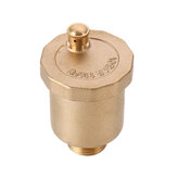 TMOK DN15 G1/2 One Way Brass Thread Air Vent Exhaust Valve Automatic Air Pressure Valve Safety Release Valve for Solar Water Heater