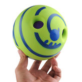 Formation de balle de jeu de chien de compagnie d'animal familier de 6 pouces à mâcher avec des jouets sonores drôles