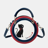 Women Fashion Cat Cute Crossbody Bag Shoulder Bag