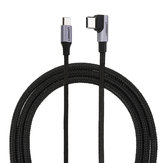 Ugreen US255 Type C 90 Degree PD Fast Chage Data Cable For Tablet Smartphone 1M