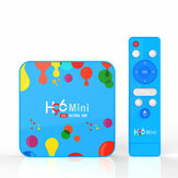 H96 Mini H6 Allwinner H6 4 Go de RAM 128 Go de ROM 5G WIFI Bluetooth 4.0 Android 9.0 4K 6K TV Box