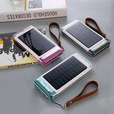 2019 جديد 20000mAh Solar القوة Bank for Flashlight iPhone الهاتف المحمول القوةbank القوة Source