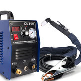 CT50 110V 50A Cortadora de plasma Cortadora de plasma con accesorios de soldadura de antorcha de corte PT31