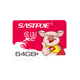 SASTFOE Year of the Pig Edición limitada U3 64GB Tarjeta de memoria TF