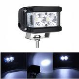 10V-30V 60W 3 Inch LED Work Lights Bar White Blue Combo Beam Driving Fog Lamp For Offroad Truck Boat