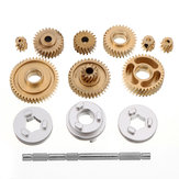 Metal Helical Gear Set for RC Tamiya 1/14 DIY Tractor Truck Gear box Car Spare Parts