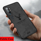 Xiaomi Mi Note 10 / Xiaomi Mi CC9 PRO用Bakeey Deer Luxury Canvas Cloth耐衝撃性指紋防止保護ケース