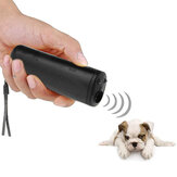 3 In 1 Anti Bellen Stop Bark Ultraschall Haustier Hund Repeller Trainingsgerät Pet Trainer Mit LED