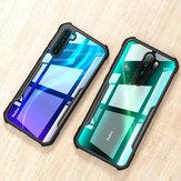 Voor Xiaomi Redmi Note 8 Case Bakeey Armor Bumper Edge Transparant Acryl + Soft TPU Edge Beschermhoes