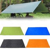 210x150 سنتيمتر التخييم نزهة الوسادة anit- uv خيمة قماش القنب المطر ظلة أرجوحة المأوى
