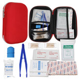 145Pcs Upgraded Outdoor / Indoor Emergency Survival First Aid Kit Survival Gear for Home Office Car Boat Camping Hiking Travel