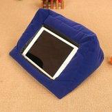 Portátil dobrável tablet travesseiro titular descanso leitura almofada almofada para tablet iPad livros revistas