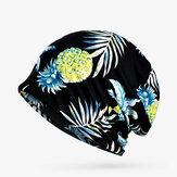 Kadınlar Pamuk Soft Yazdır Vogue Beanie Şapka
