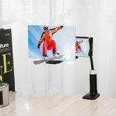 Staffa di supporto per amplificatore di schermo pieghevole per telefono cellulare 12 '' 3D HD
