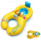 ABC Safe Inflatable Mother and Baby Swim Float Boat Tratwa Fotelik dziecięcy Boat Boat