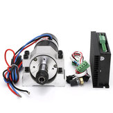48V 500W Brushless Spindle DC Motor + WS55-220S Brushless Spindle Driver + Spindle Fixture Kit